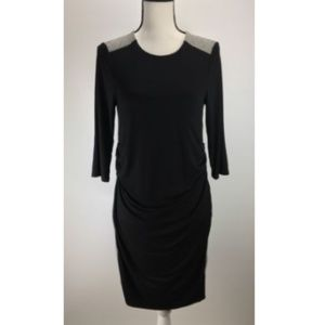 NWT Maternal America Maternity Ruched Shift Dress